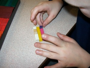 Question 5: If yellow is four, what are the other rods?